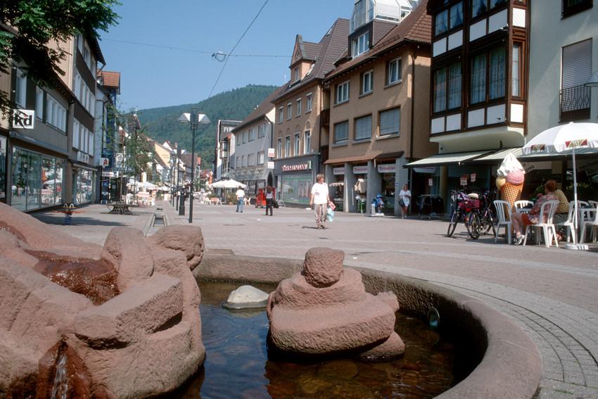 Narrenbrunnen am Schützenplatz, Schramberg-Talstadt